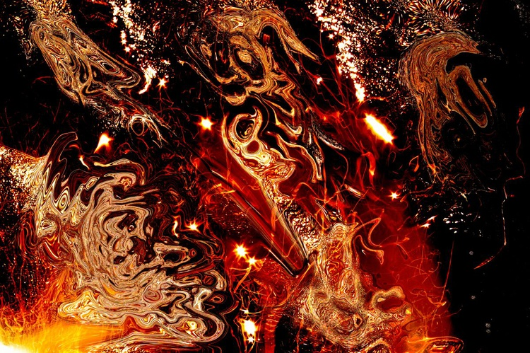 abstract fire lights - Image 0