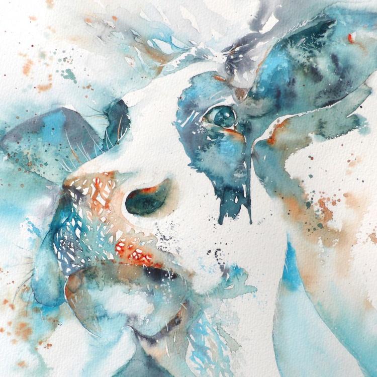 Moody cow II - Image 0