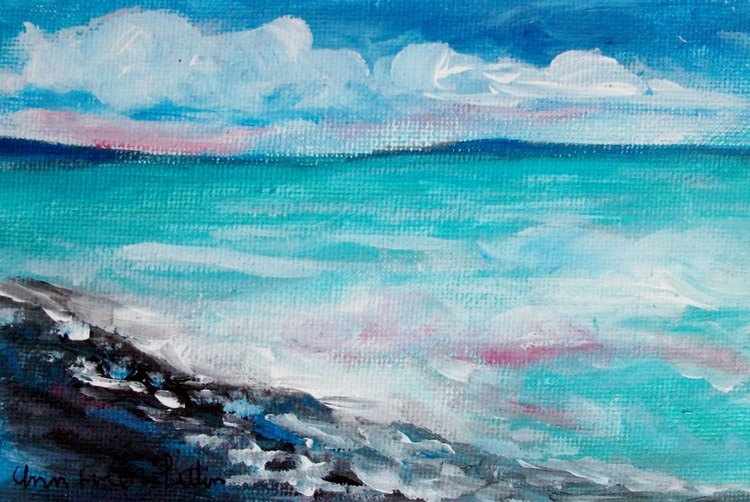 Clouds Over Blue Sea - Image 0