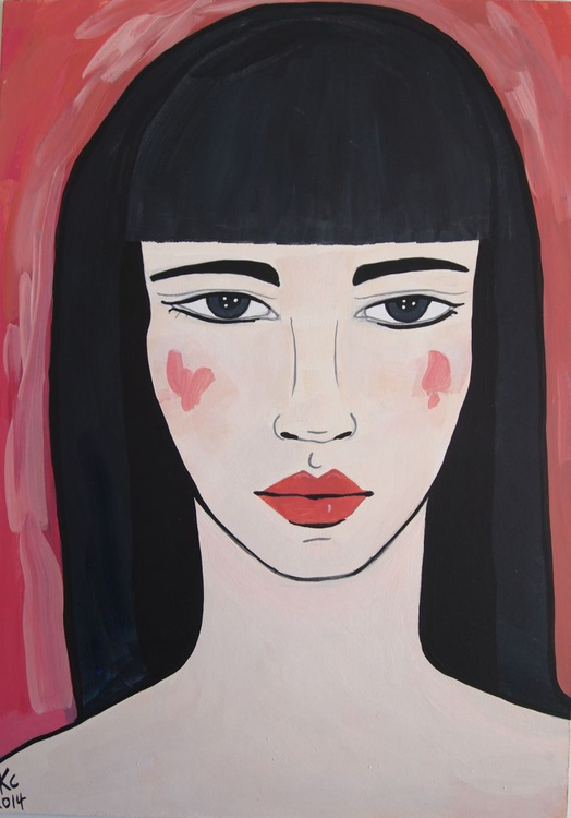 Red Portrait - Image 0