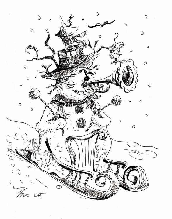 Snowman -