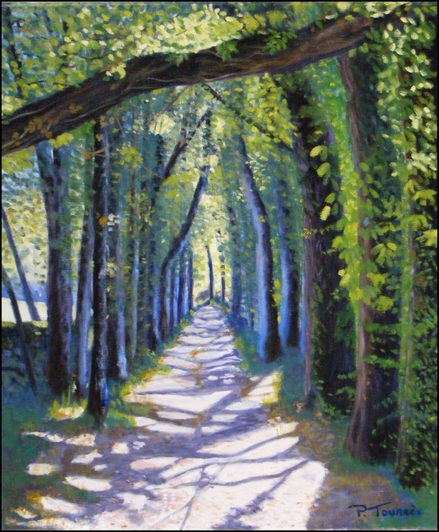 Chemin de Monsac en Dordogne - Image 0