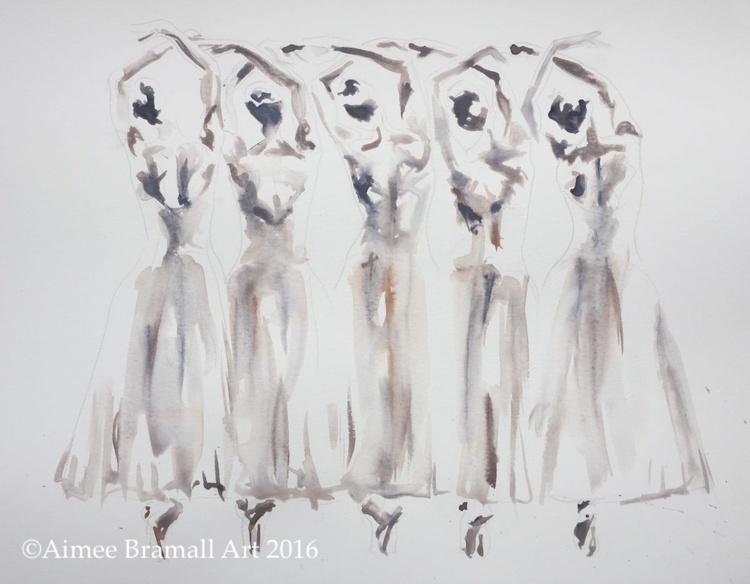 The Five Ballerinas - Image 0