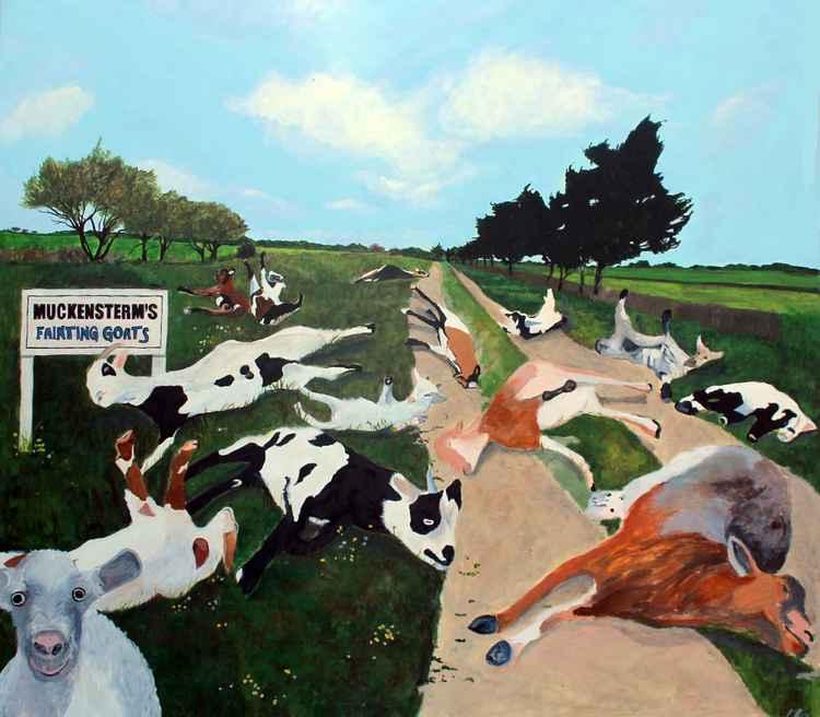 Muckensterns Fainting Goats -