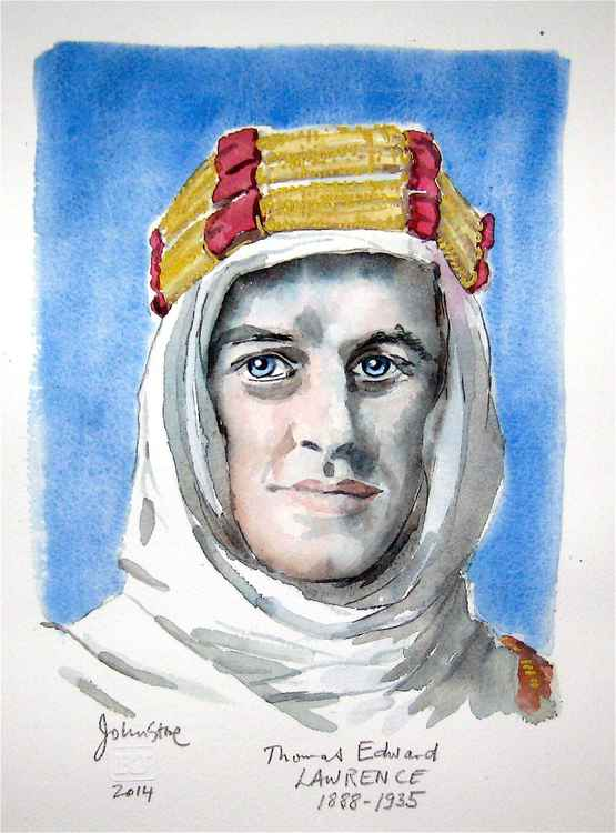 LAWRENCE OF ARABIA (T E SHAW)