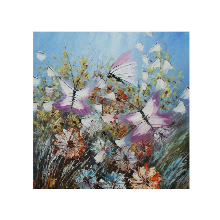 """The painting """"butterflies 2"""" - Image 0"""
