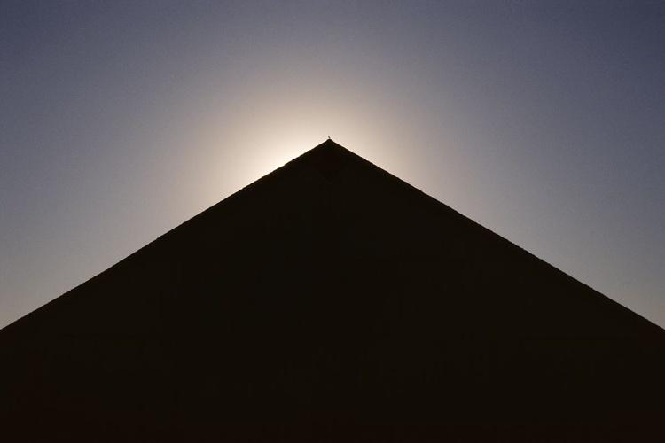 Barn Silhouette #4, With Bird - Image 0