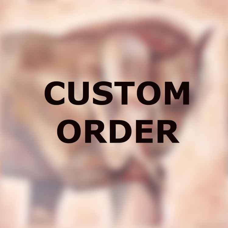 """Custom Order 20x20"""" first payment original oil painting -"""
