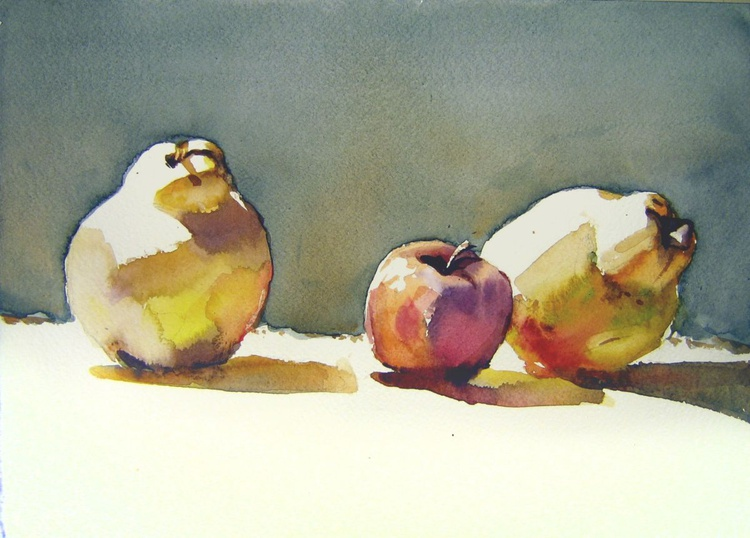 still life with quinces II - Image 0