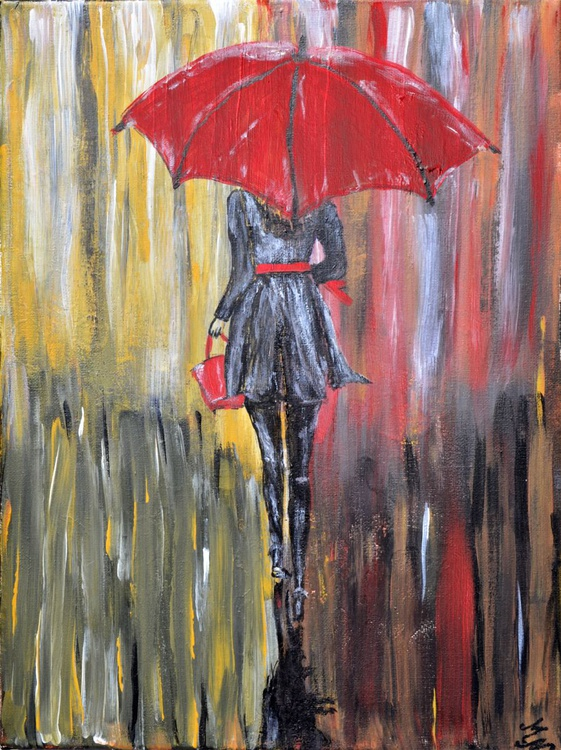 Red Umbrella - Image 0