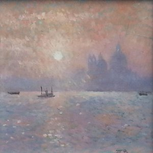 Venice, sunset by John Rochester