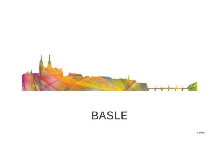 Basle, Switzerland Skyline WB1 -
