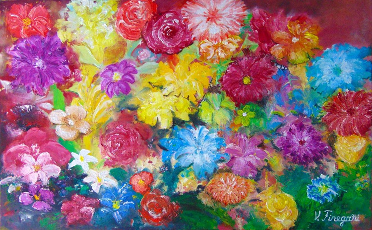 a world with flowers - Image 0