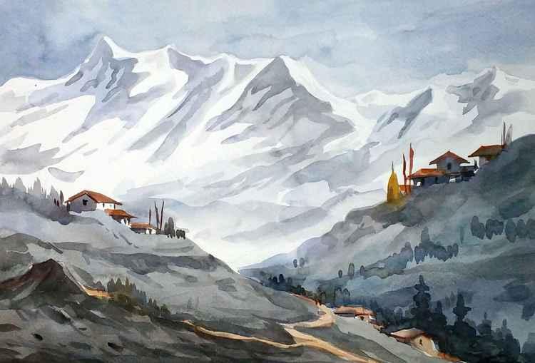 Majestic Himalayan Landscape 2 -