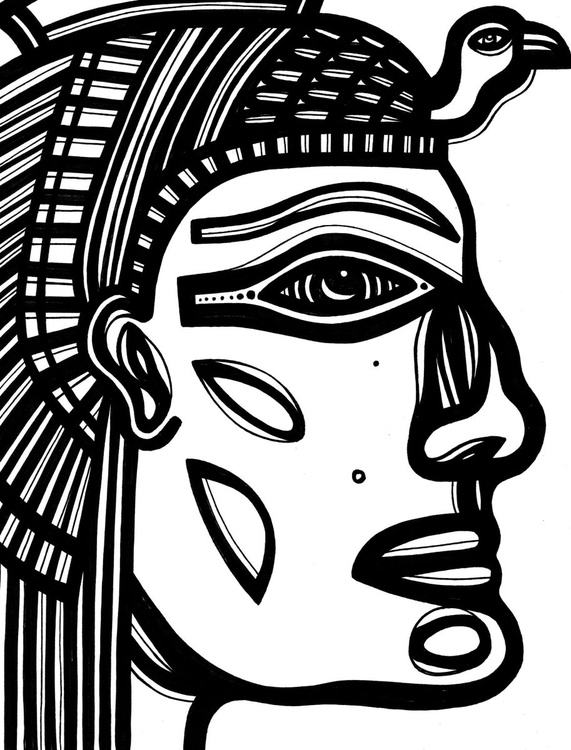 Egypt Royalty Original Drawing - Image 0