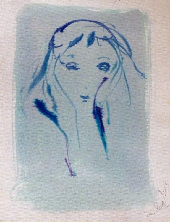 Faces #13, 30x38 cm - Image 0