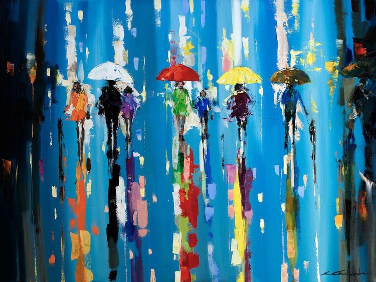 'Under Red Umbrella' - Image 0