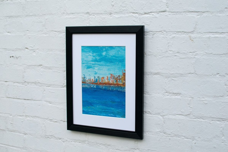 Out at Exhibition - The Harbour wall - Image 0