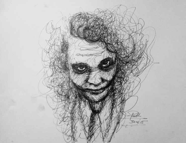 Joker(heath ledger) -