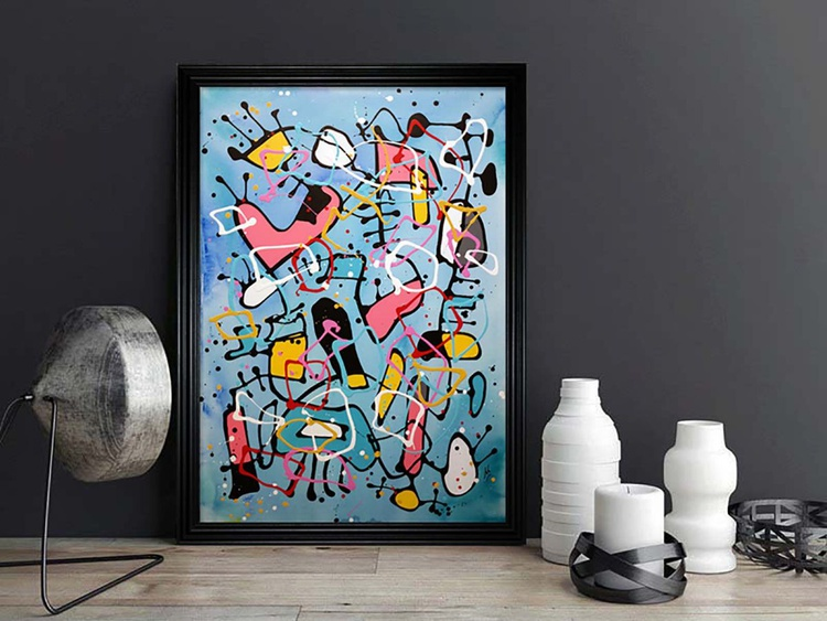 Northern Soiree (Ready Framed) - Image 0