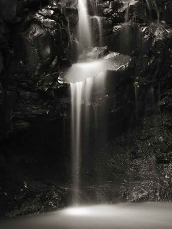 Small waterfall detail -