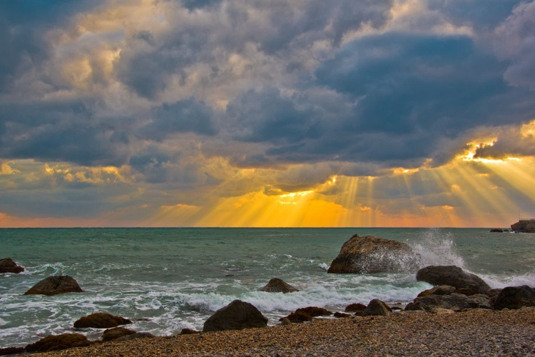 Sunset on Black Sea - Image 0