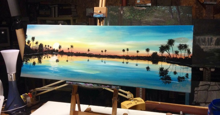 """"""" Sunset in Paradise """" - (Reduced Price) - Image 0"""