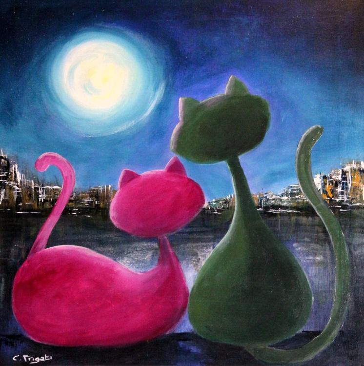 Moonlight Cats #11 - Image 0