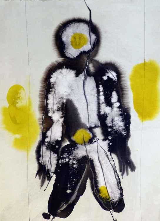 Prolegomena #86 , Acrylic on paper 29x42 cm