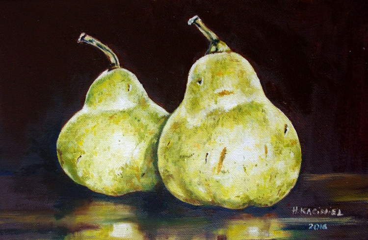 """""""A Pair of Pears IV"""" - Image 0"""