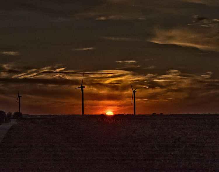 Sundown in Rural America -