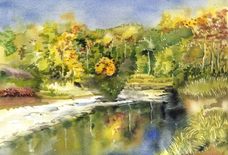 Autumn by the creek - Image 0