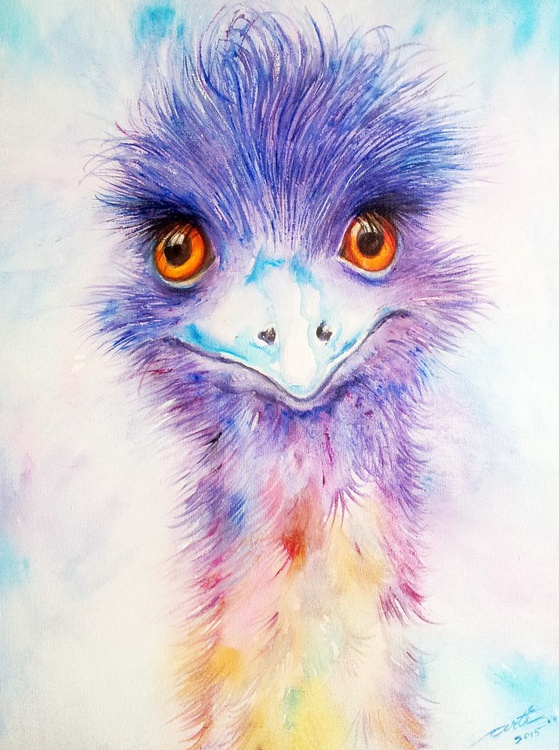 Blue Guy_Emu - Image 0
