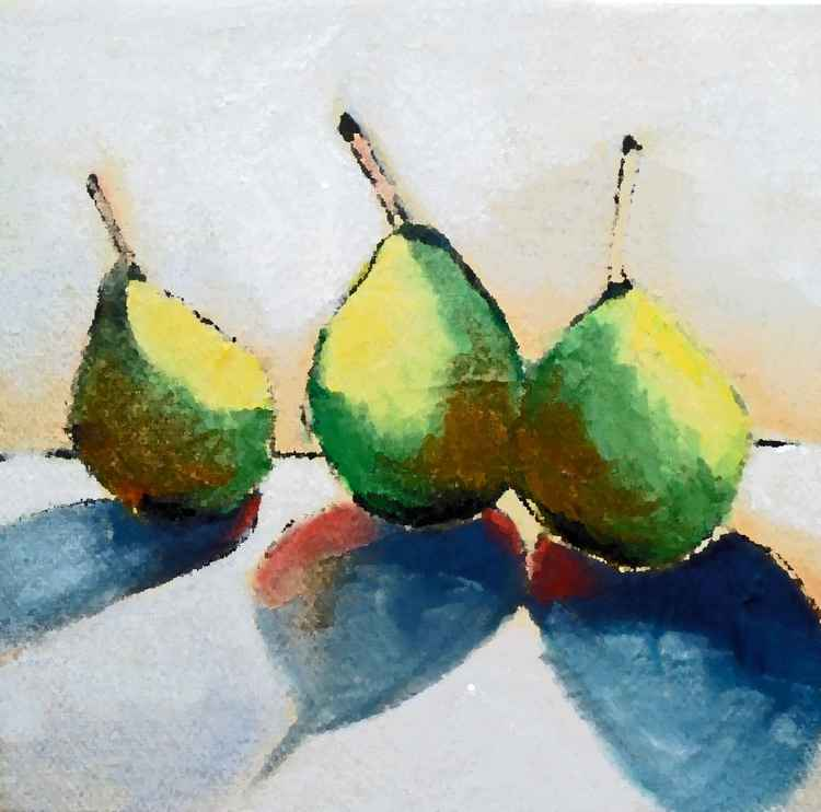 Pears, First of the Season -