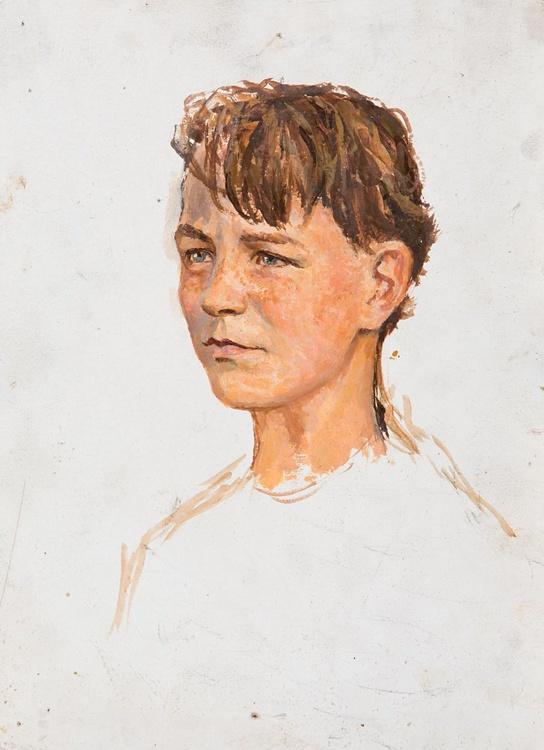 Portrait of a Boy - Image 0