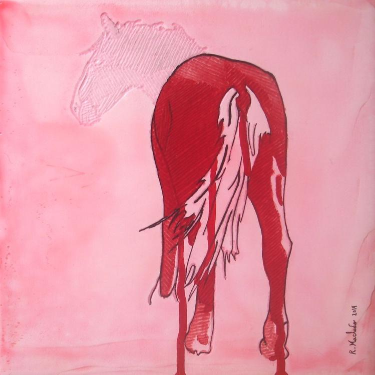 Horse Carved IX - Image 0