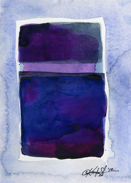 Watercolor Abstraction No. 207 - Image 0