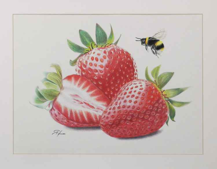 Strawberry trio -