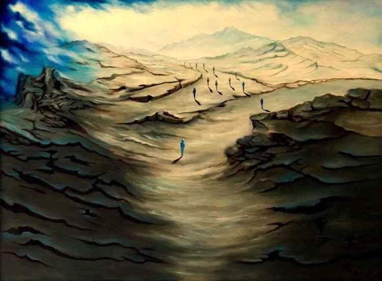 THE road to Santiago de compostela -