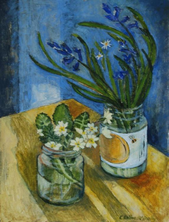 Wild bluebells and primroses - Image 0