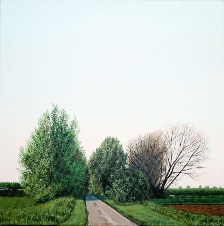 Lane, Spring Evening. - Image 0