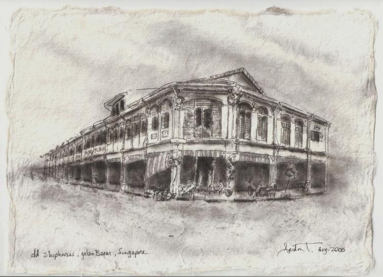 Old Shophouses,  jln Besar, Singapore  SOLD - Image 0
