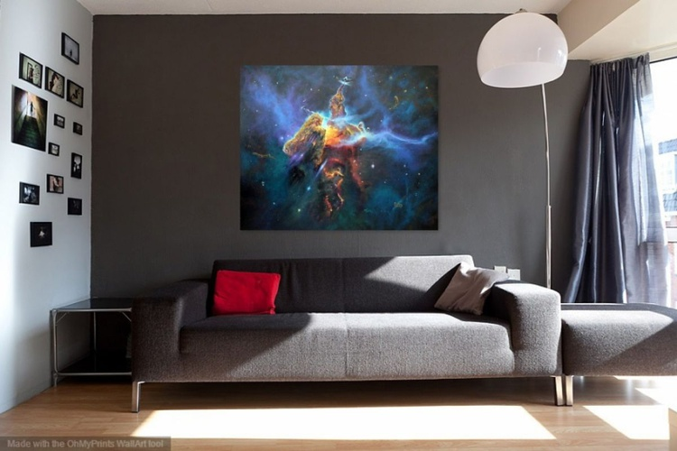 Mystic Mountain in Carina Nebula - Image 0