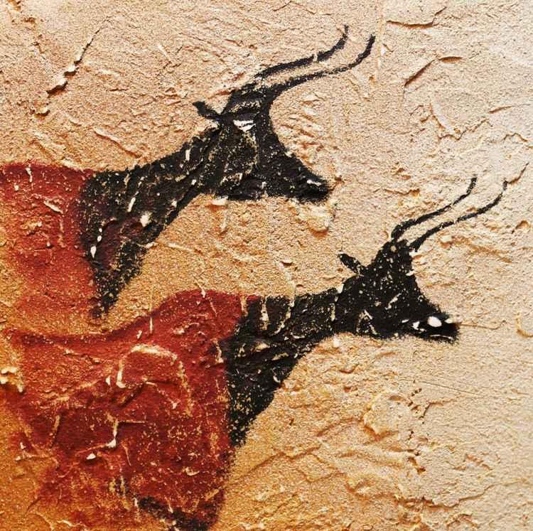 Two Aurochs -