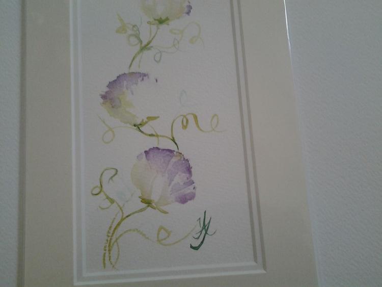 Purple Sweet Pea - Image 0
