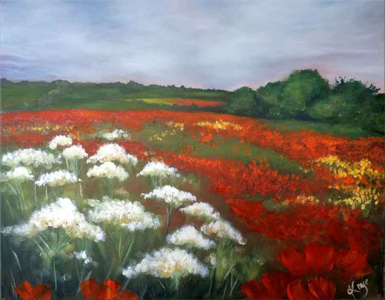 Among the Poppies -