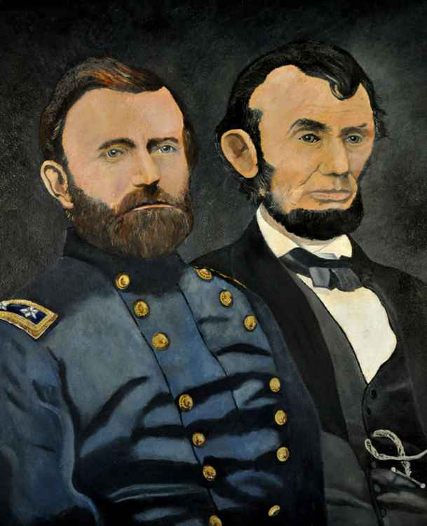 Grant and Lincoln -