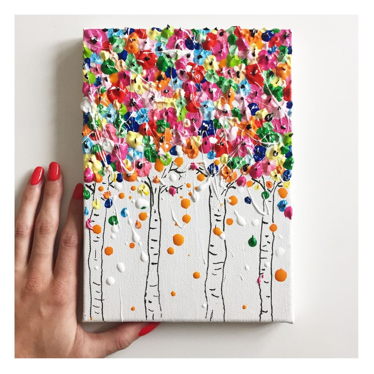 Tiny Floral Trees - Image 0