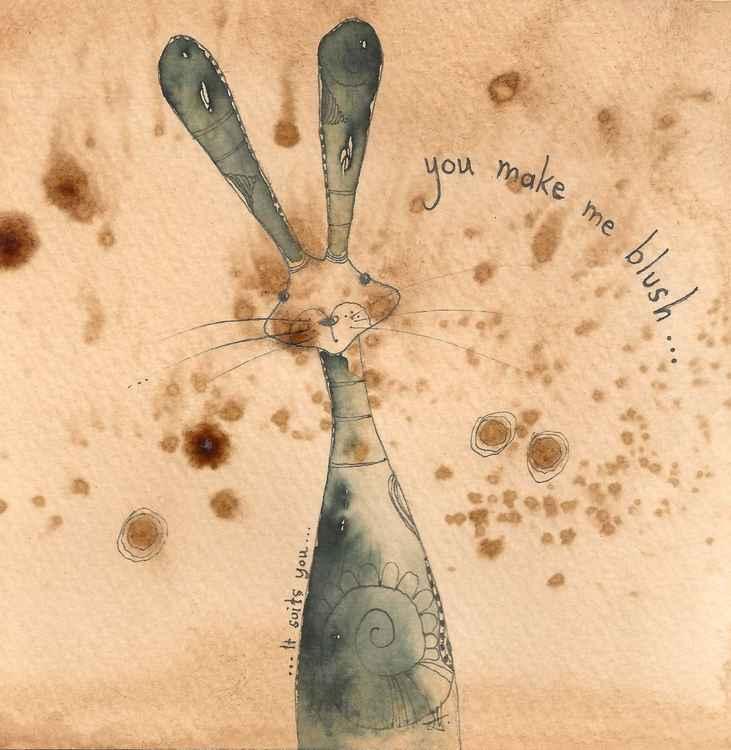 Blushing Hare -