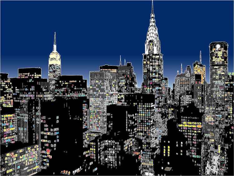 New York - alive @ night